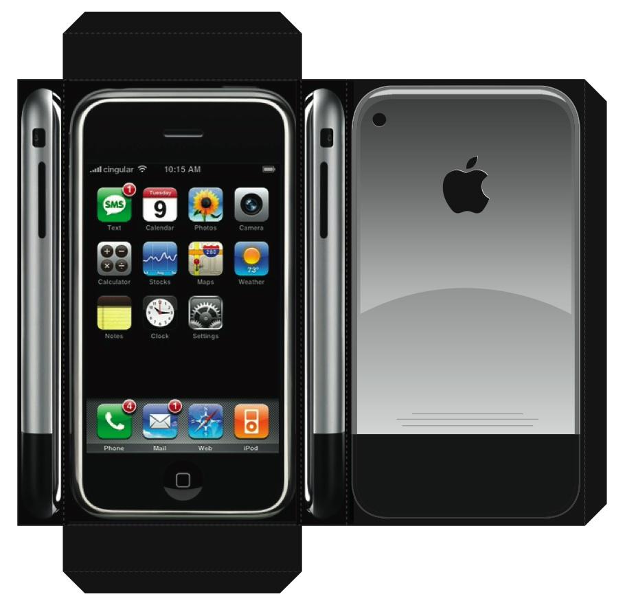 Vorfreude zum s... Iphone 2g Box